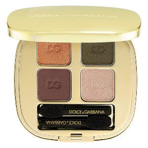 Dolce & Gabbana_ Brown_Golden_Green_eyeshadows_ for_ hazel eyes_