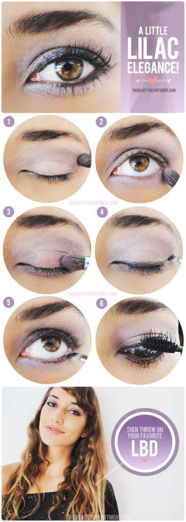 Purple and lilac_eyeshadows_tutorial_for_ hazel eyes_thebeautydepartment.com
