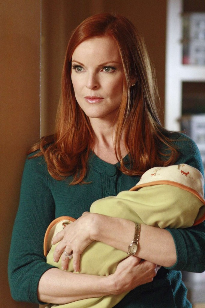 marcia cross_red hair_desperate housewives.