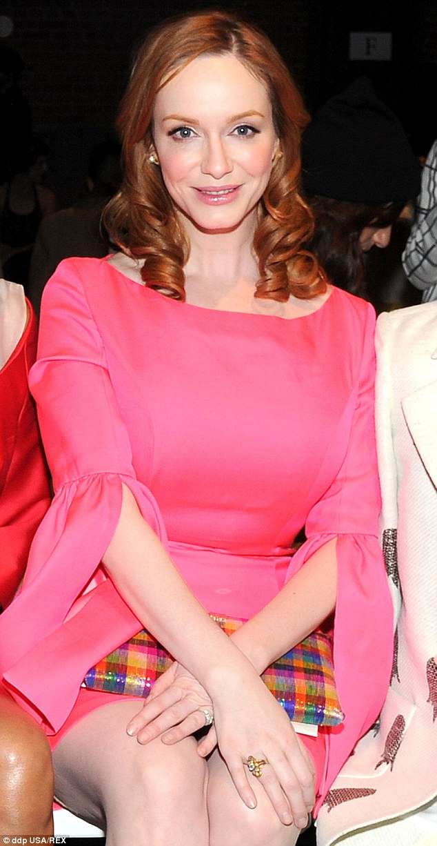 christina Hendricks_red hair_Pretty_in_pink_