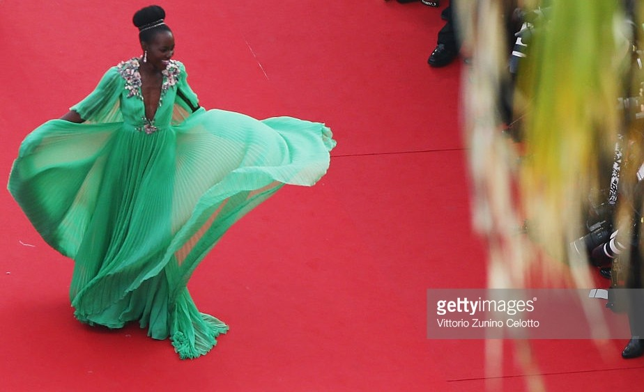 Lupita in Gucci at Cannes