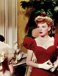 judy garland_red hair_ meet me in the st. Louis.