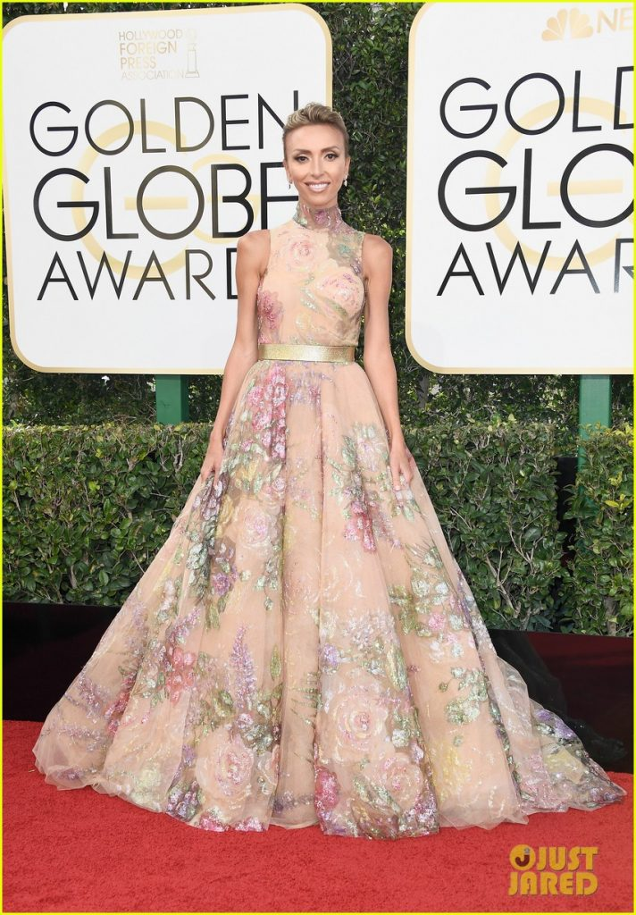 At_golden_glob_2017_Giuliana Rancic_ wore_Rani_Zakhem-Best dressed celebrities