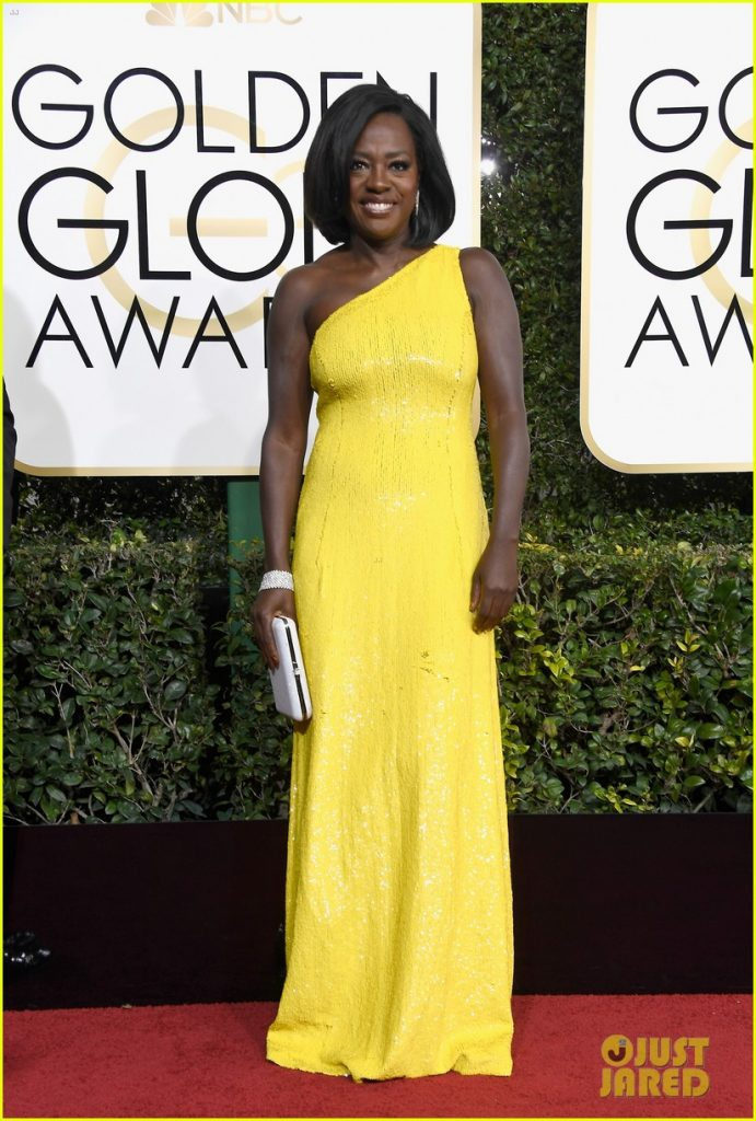 At-golden-globes-2017-viola-davis-wore-michael-kors0-Best dressed celebrities